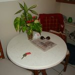 Small table in our room