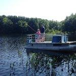 Lake and Fishing Dock