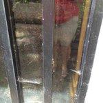 Cob webs on exterior windows