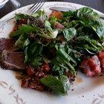 great ahi salad done three ways