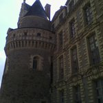 Chateau de Brissac - vue d'une tour
