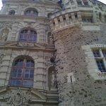 Château de Brissac - Détail de façade