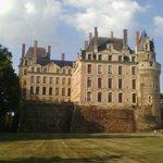 Chateau de Brissac - Vue arrière