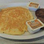 Sausage & pancake