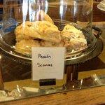 Peach Scones