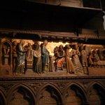 Parte de la magnífica via crucis