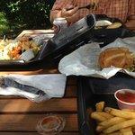 Shade Tree Cafe Meal