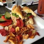 Pan Bagna Sandwich - yes!