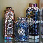 Mosaics make wonderful gifts, or additions to the garden!