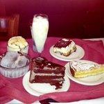 Homemade daily desserts