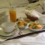 Breakfast in bed @ Casa Howard