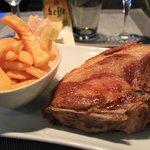 fatty but delicious pork chop