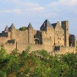 the castle's just across the Aude River