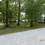 Tent camp sites