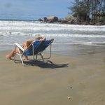canto sul-chegada da praia