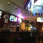 Classic sports bar and grill.