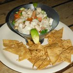 Our Ceviche! Heavenly!