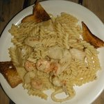 Alex's Seafood Pasta! Loved it!