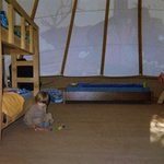 Inside Our Tipi