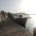 Dive Dock with Boats