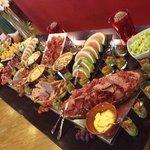 buffet entrėes