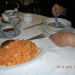 Spicy rice dish