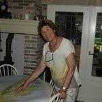 Francita Bruin, the owner