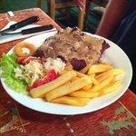 King Zize steak med pebersauce