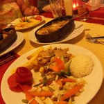 Ottoman Chicken accompaniments