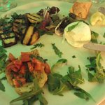 Delicious antipasti, my photo does not do this justice!