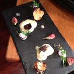 goats cheese mousse - tasty!