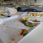 ciò che resta del nostro pranzo...