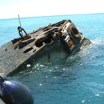 The Bow of HMS Vixen, Shipwreck.