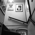 interesting photographs adorning the walls