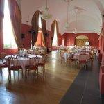 Salle pour le diner de mariage