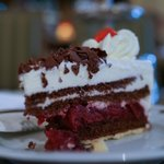 Black Forest Gateau in the lounge