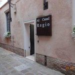 Ingang hotel Al Canal Regio