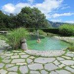 Der Schwimmteich der Jaga Alm