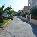 Lane to Ilion Beach Hotel