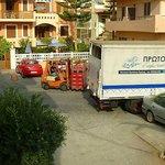 Unloading deliveries