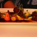Kangaroo Steaks, main course...Amazing!