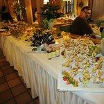 serata con buffet dolci