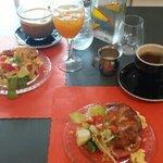 u s breakfast.    yummy!