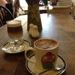 latte & Hot mint chocolate