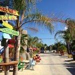 beach area at Tiki Bar