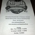 Nigels Good Food
