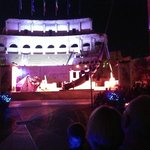 Evening show at colosseo!