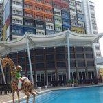 飯店的游泳池