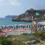 La fantastica spiaggia di Capogrosso