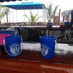 tiki bar bucket drinks